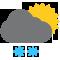 облачно со снегопадом