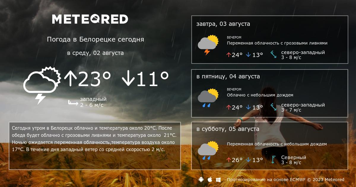 погода белорецке на 14 дней компрессы