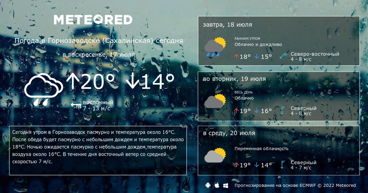 Погода на месяц горнозаводск